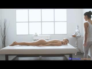 Venera Maxima and Teana - Romantic Sex After Sensual Massage [Lesbian]