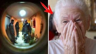 Бабушка позвонила в полицию и сказала, что хочет КУШАТЬ... То, что было дальше Вас сильно УДИВИТ...