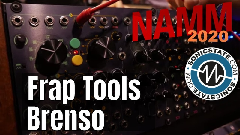 NAMM 2020 Frap Tools Brenso Complex Oscillator Sounds Wild!