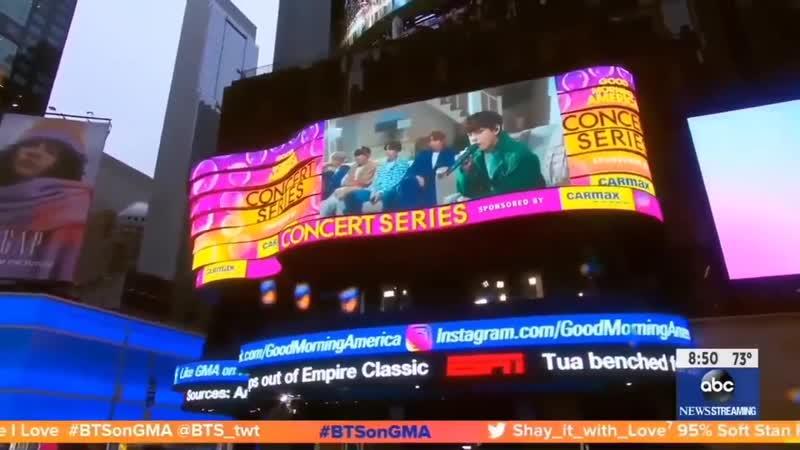 Good Morning America BTS