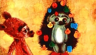 Как Ежик и Медвежонок Встречали Новый Год - советские мультфильмы для детей