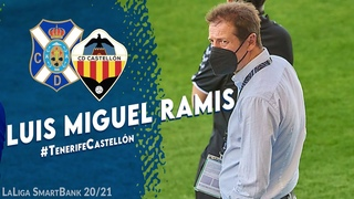 """Luis M. Ramis: """"Hemos visto a un CD Tenerife, jugando tanto con 11 como 10, que merecía ganar"""""""