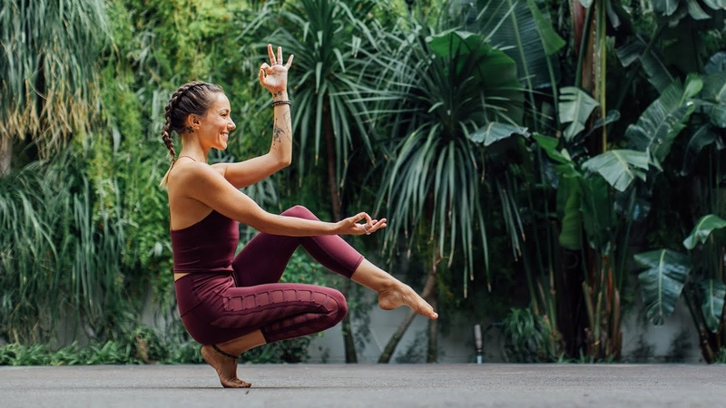 Activate Your Feet and Legs with Kayla's Root Chakra Yoga Sequence