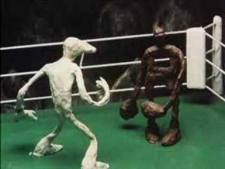советский пластилиновый мультфильм про бокс - Брэк