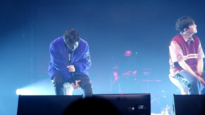 190126 이홍기 - 모닥불 딘딘 - 불면증 LEE HONG GI SOLO CONCERT 'I AM' IN SEOUL 연세대학교 백주년기념관 콘서트홀