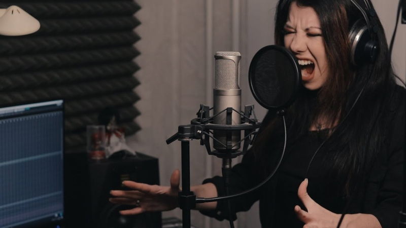 Pantera Mouth for war Extreme female vocal cover